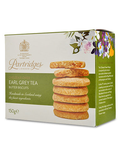 Partridges Earl Grey Tea Butter Biscuits