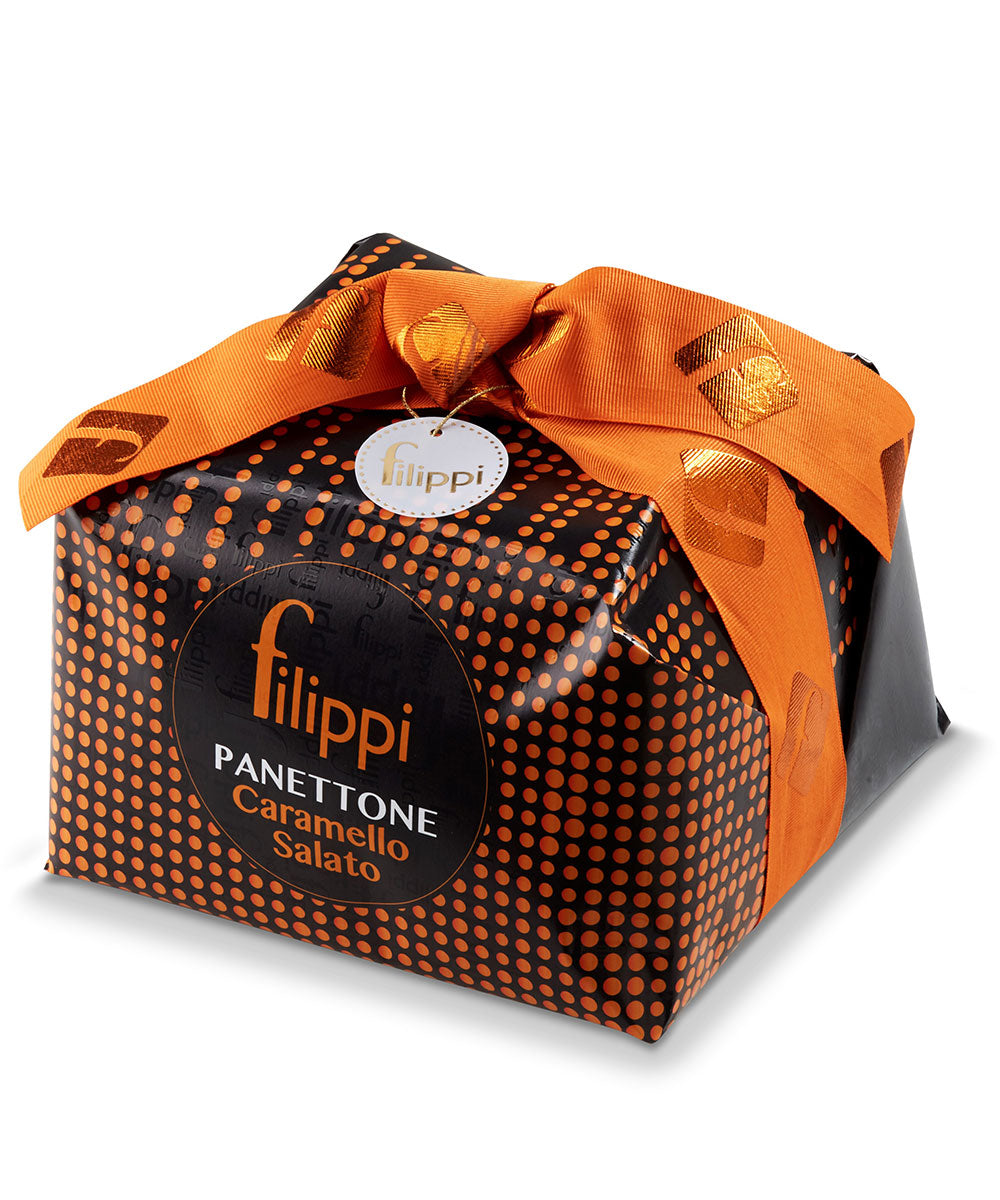Salted Caramel Panettone by Pasticceria Filippi