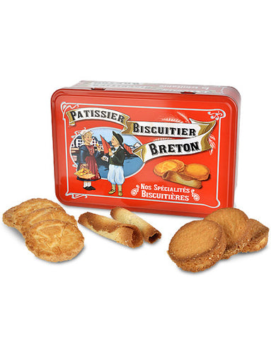 French Butter Cookie Gift Box from Biscuiterie La Trinitaine
