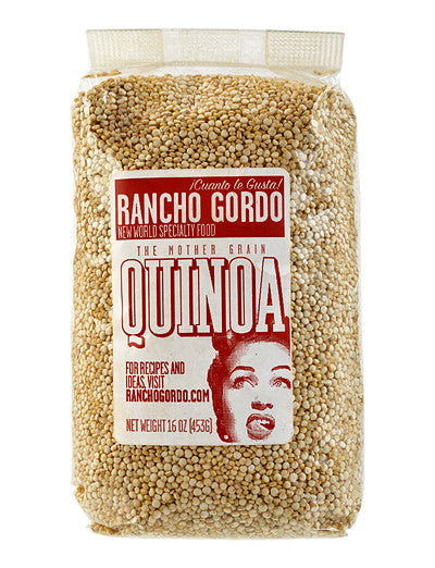 White Quinoa from Rancho Gordo