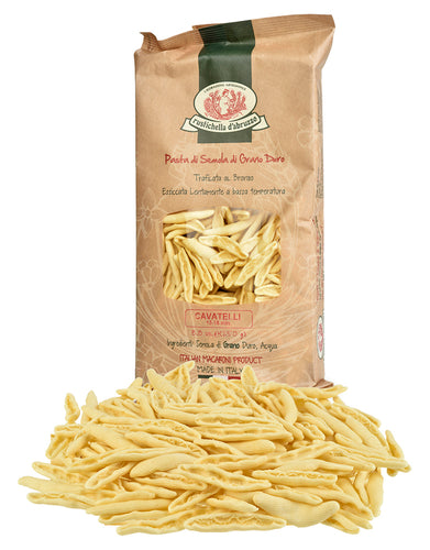 Cavatelli Pasta from Rustichella d'Abruzzo – 8.8-ounce package