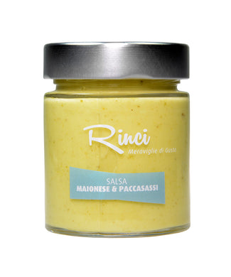 Italian Sea Fennel Mayonnaise (Maionese di Paccasassi) from Rinci