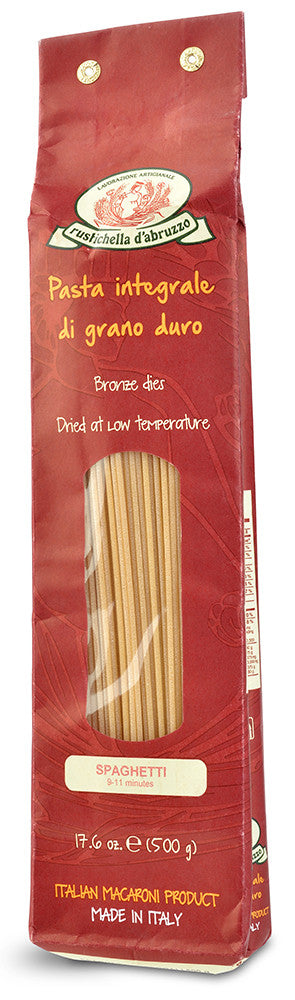 Whole Wheat Spaghetti from Rustichella d'Abruzzo