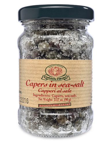 Sicilian Capers in Sea Salt from Rustichella d'Abruzzo
