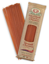 Spicy Red Pepper Tonnarelli Spaghetti Pasta from Rustichella d'Abruzzo