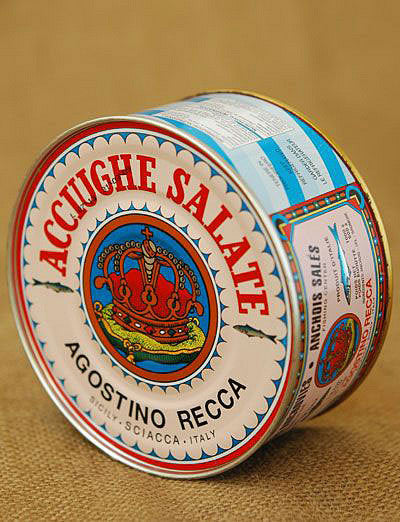 Salted Anchovies from Agostino Recca