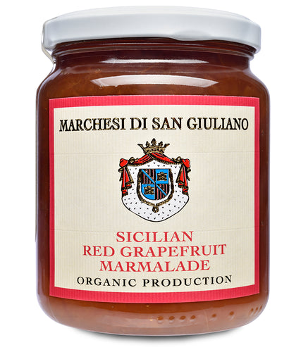 Organic Sicilian Red Grapefruit Marmalade from Marchesi di San Giuliano