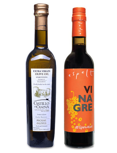 Spanish Olive Oil & Vinegar Set