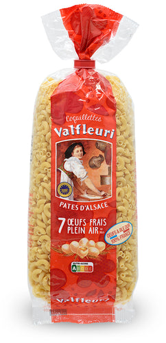 Coquillettes Egg Pasta from Valfleuri