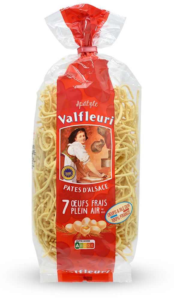 Egg Spaetzle Pasta from Valfleuri