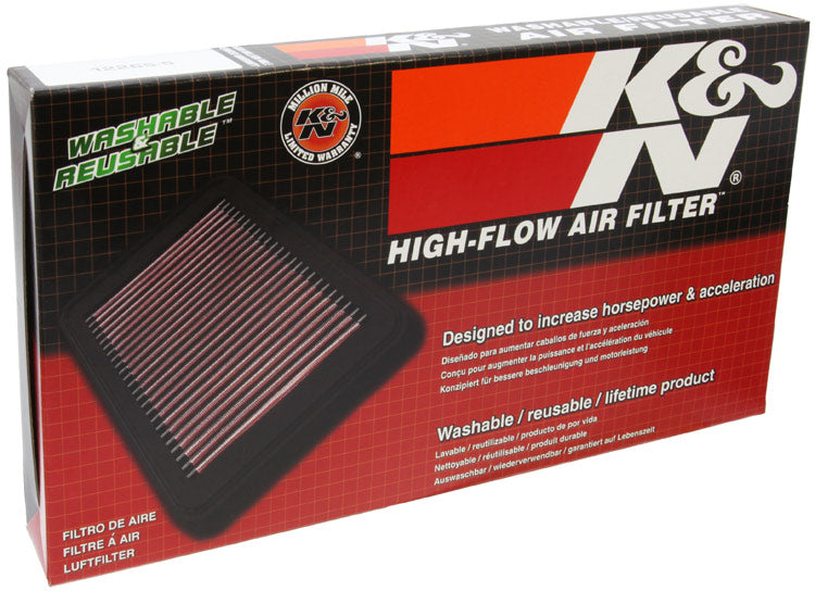 K&N for 07-10 Jeep Patriot/Compass / 06-10 Dodge Caliber Drop In Air Filter