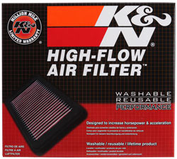 K&N 11-13 Kawasaki Z1000 1000/ ZX1000 Ninja / 11-12 Z1000 SX / 12 Versys 1000 Replacement Air Filter