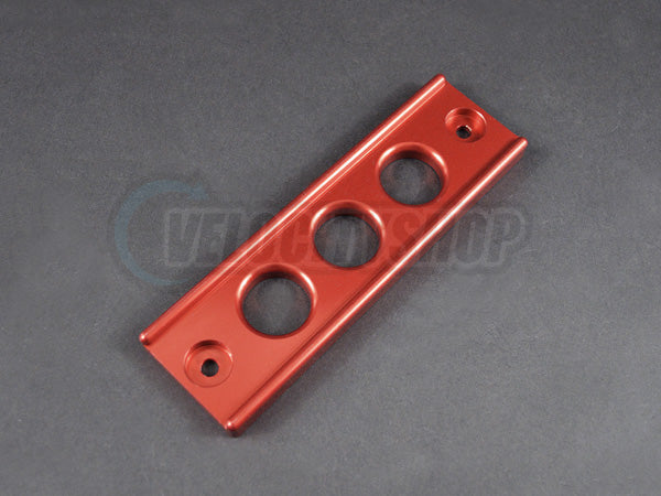 Blox Billet Battery Tie Down 92-00 Civic 94-01 Integra Red
