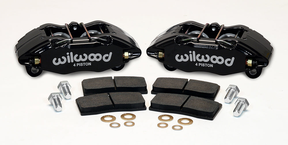 Wilwood DPHA Front Brake Calipers Kit (Black) 92-00 Civic EX / 94-01 Integra GSR LS