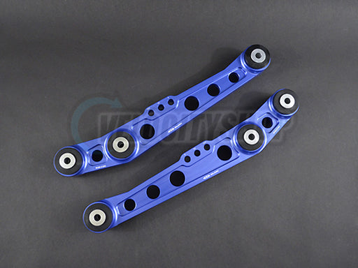 Blox Rear Lower Control Arms V2 88-91 CRX Civic, 92-95 Civic, 94-01 Integra Blue
