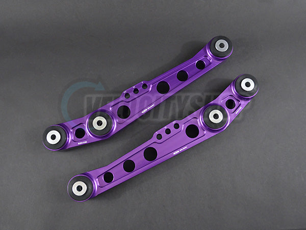 Blox Rear Lower Control Arms V2 88-91 CRX Civic, 92-95 Civic, 94-01 Integra Purple
