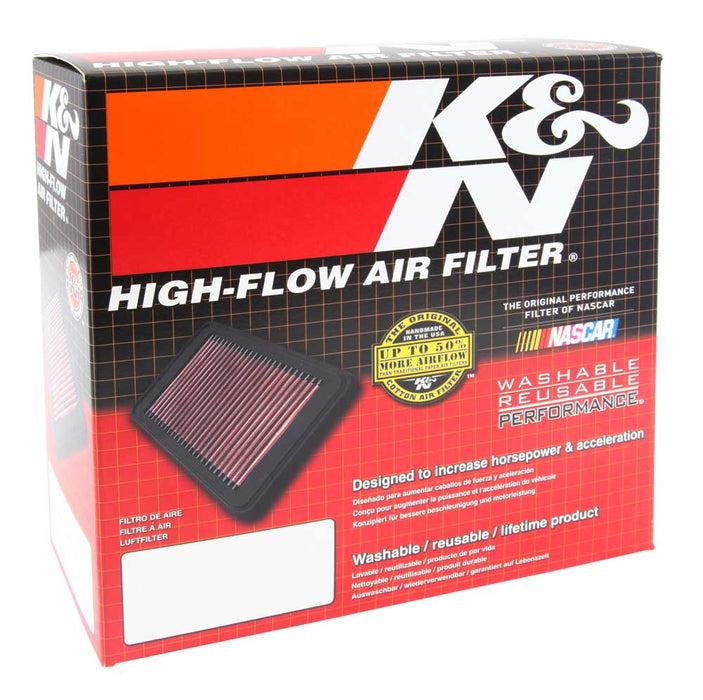 "K&N Universal X-Stream Clamp-On Air Filter 3.5"" Flg ID/4"" OD/5.75"" H"