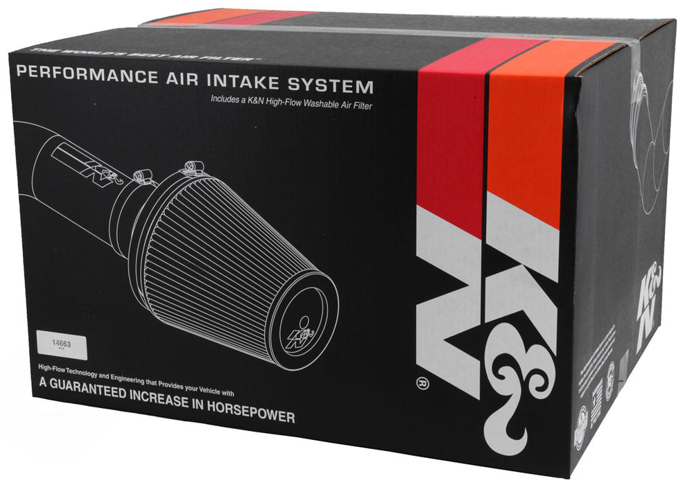 K&N for 08-09 Nissan Pathfinder/Xterra/Frontier V6-4.0L Aircharger Performance Intake