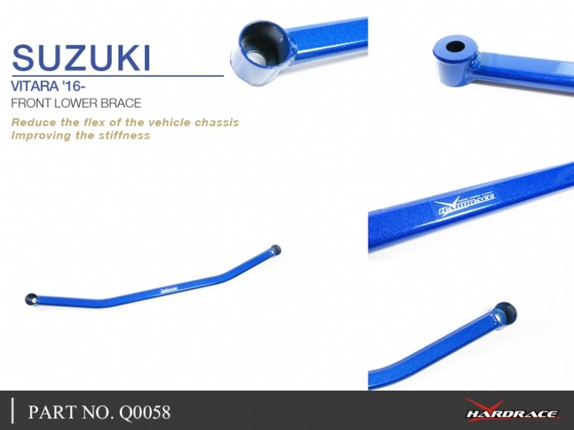 SUZUKI VITARA '16- FRONT LOWER BRACE - 1PC/SET