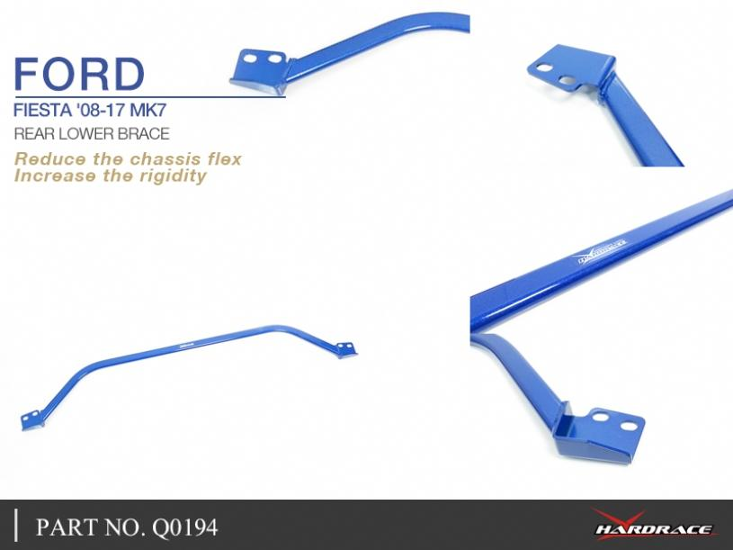 FORD FIESTA '08-17 MK7 REAR LOWER BRACE - 1PCS/SET