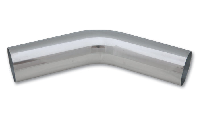 "45 Degree Aluminum Bend, 2.75"" O.D. - Polished"
