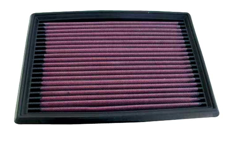 K&N for 90-96 Nissan 300ZX 3.0L / 95-01 Honda Civic V 1.4/1.6L Drop In Air Filter