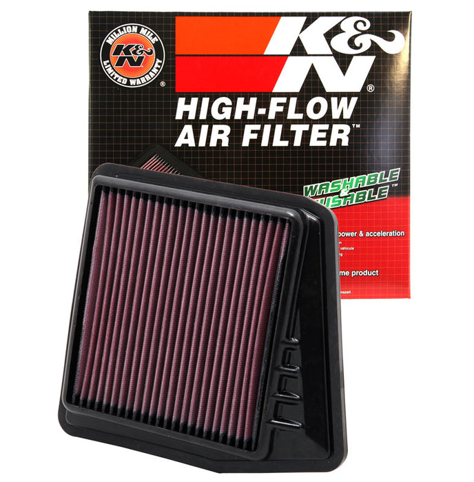 K&N for 09-10 Acura TSX 2.4L-L4 Drop In Air Filter