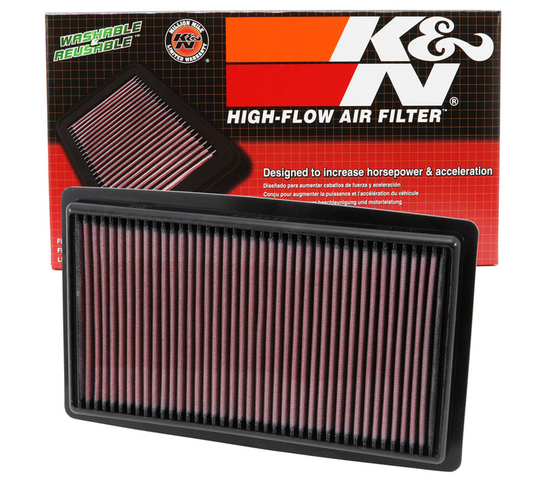 K&N Replacement Air Filter 13-14 Honda Accord V6 3.5L F/I