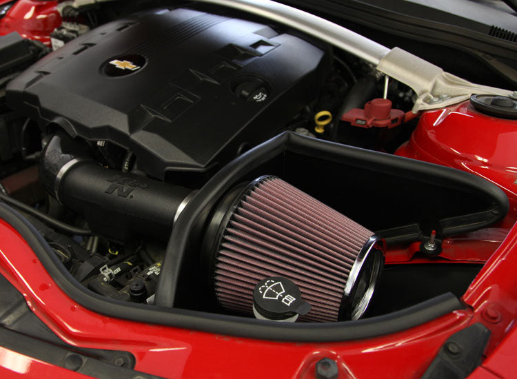 K&N FIPK 11-15 Chevy Camaro V6 3.6L Performance Intake Kit