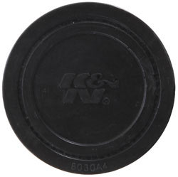 "K&N 1.5"" Flange ID x 3"" OD x 2.5"" H Rubber Base Crankcase Vent Filter"