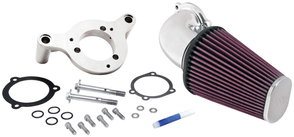 K&N for 01-11 Harley Davidson FX / FL Aircharger Performance Intake Kit
