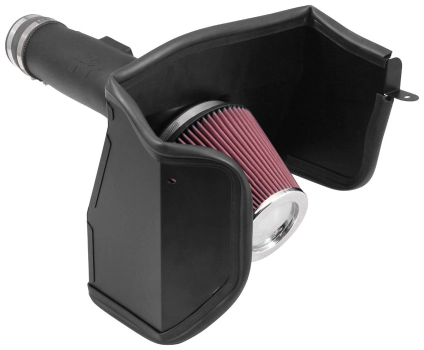 K&N for 2017 Nissan Armada V8 5.6L Aircharger Performance Air Intake