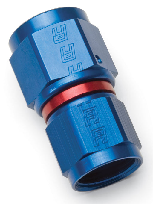 640550 | COUPLER REDUCER, -6 TO -8, RED & BLUE ANODIZED