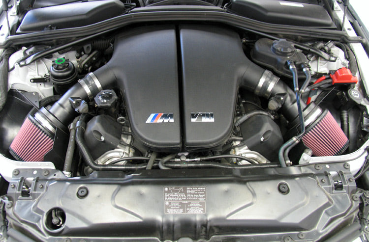 K&N for 06-07 BMW M5 5.0L Flat Black Typhoon Short Ram Intake