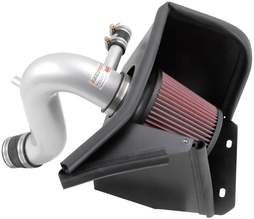 K&N 69 Series Typhoon Performance 13 Chrysler/Dodge 200/Avenger 2.4L Silver Cold Air Intake Kit