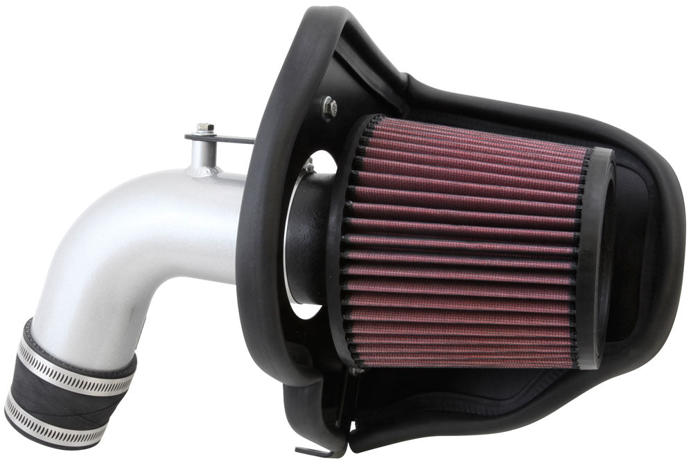 K&N 12 Chevy Sonic 1.8L Silver Typhoon Cold Air Intake