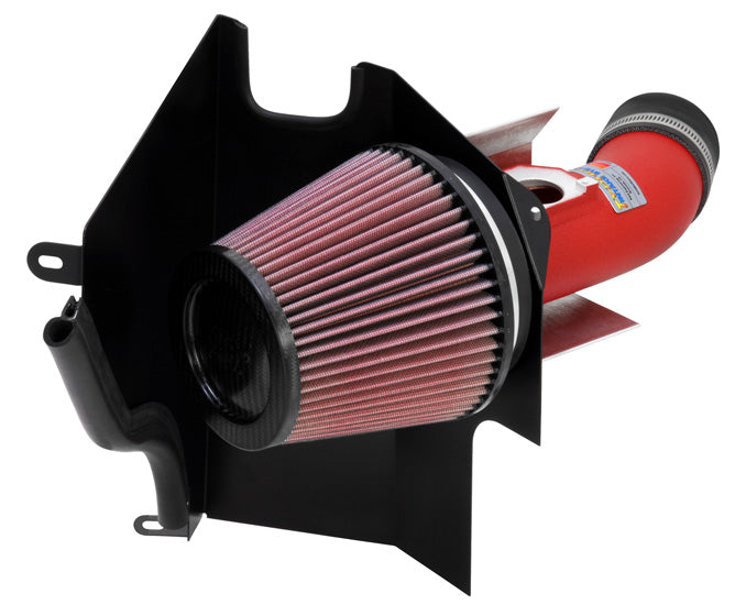 K&N for 02-07 WRX/STi Wrinkle Red Typhoon Short Ram Intake