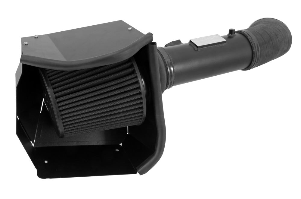 K&N 11-13 Ford F250/F350/F450/F550 Super Duty 6.7L V8 DSL Black Performance Intake Kit