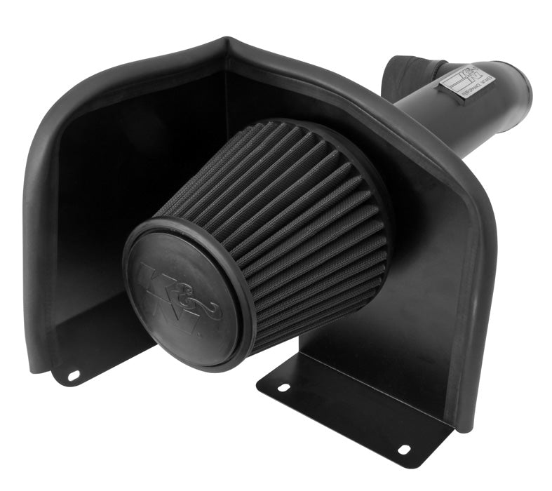K&N for 09-13 Chevy Silverado 1500/Avalanche/Suburban / 09-13 GMC Yukon Black Perf Intake Kit