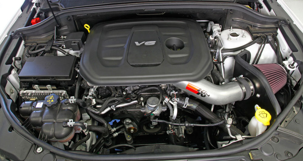 K&N 2016 Jeep Grand Cherokee V6-3.6L Performance Intake Kit