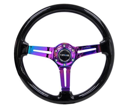 NRG Steering Wheels - Reinforc RST-018BK-MC