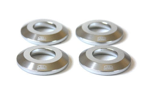 Blox RIGID COLLAR DIFFERENTIAL BILLET S2000 Differential Collar Kit, Silver Honda S2000, All