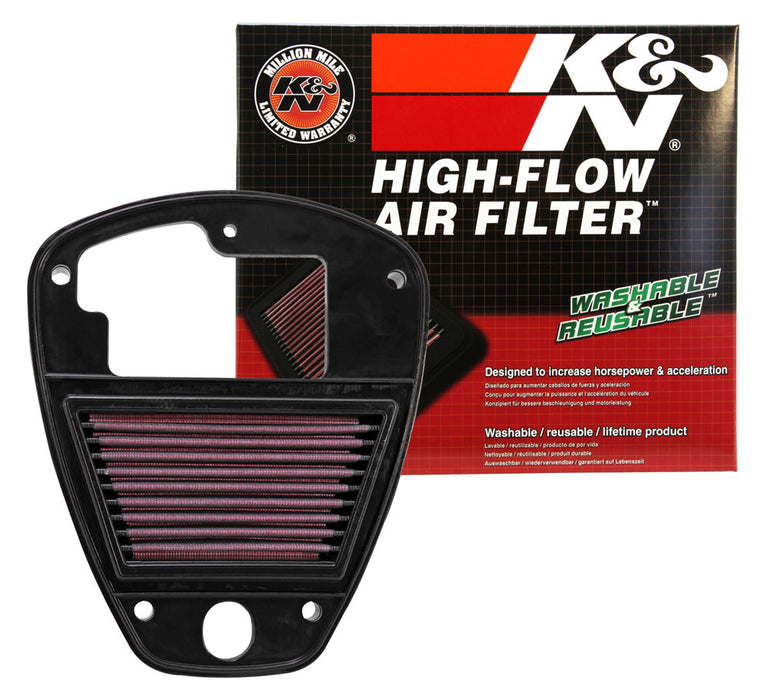 K&N for 06-11 Kawasaki VN900 Vulcan Classic/ 06-10 Vulcan 900 / 07-11 VN900 Vulcan Custom Rep Air Filter