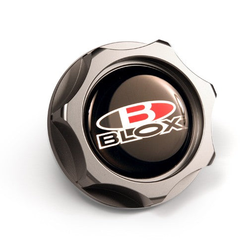 Blox BILLET OIL CAP HONDA OIL CAP M33X2.8 Billet Honda Oil Cap - Gun Metal All Honda