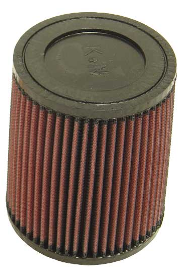 "K&N Universal Rubber Filter 2-1/4"" FLG x 5-1/8"" Base x 4-5/8"" Top x 6"" Height"