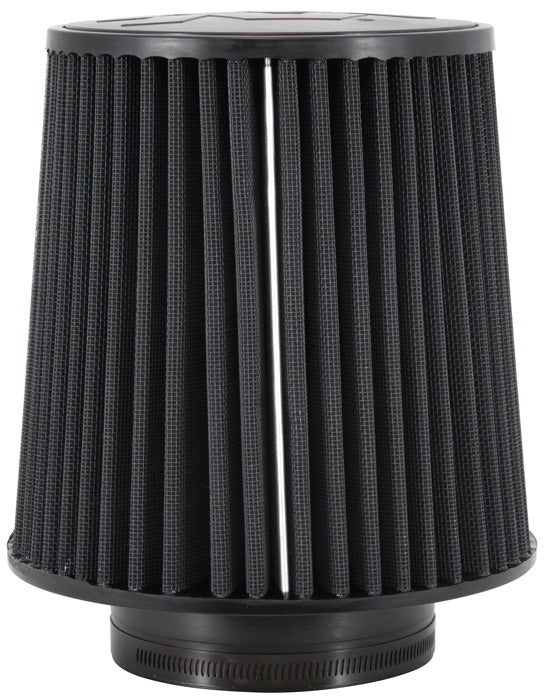 "K&N Universal Rubber Filter-Round Tapered 4.5"" Flange ID x 8"" Base OD x 6.625"" Top OD x 8"" Height"