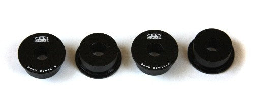 Blox STEERING RACK RIGID BUSHINGS S2000 S2000 Steering Rack Rigid Bushing Kit, Black Honda S2000, All