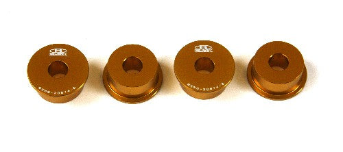 Blox STEERING RACK RIGID BUSHINGS S2000 S2000 Steering Rack Rigid Bushing Kit, Gold Honda S2000, All