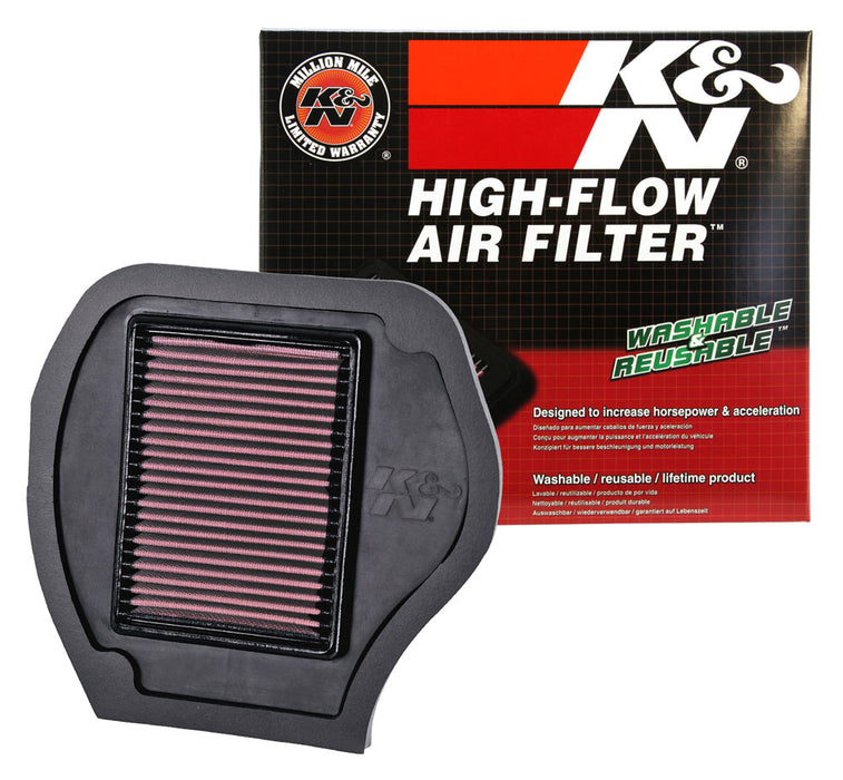K&N for 07-09 Yamaha YFM700F Grizzly FI Auto 4x4 Replacement Air Filter