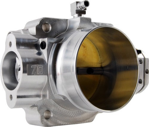 Blox THROTTLE BODY 70MM BILLET ALUMINUM APPLICABLE TO HONDA B / D / H / F Series Engines Includes TPS